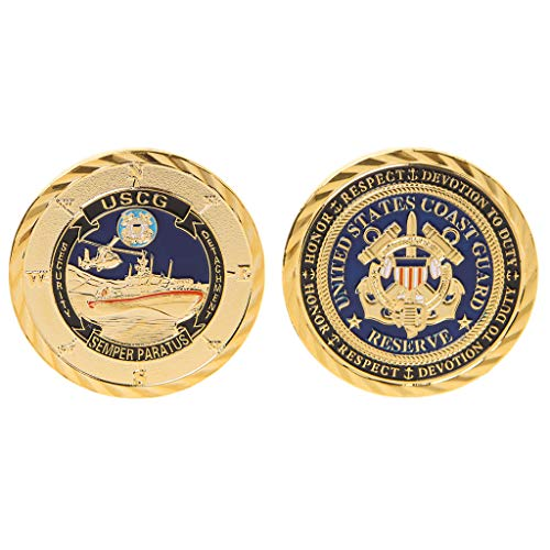(puhoon Commemorative Coin, United States Army Coast Guard 2018 Commemorative Coin Collection Souvenir Gifts, Valuable Coin for Commemoration,)