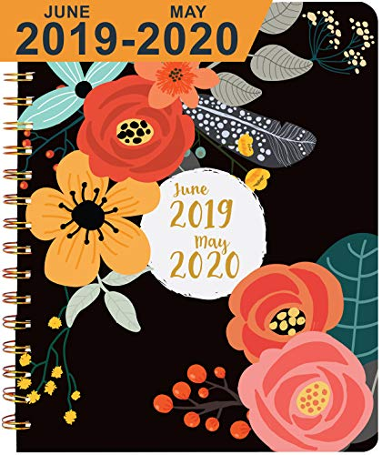 Planner 2019-2020, Academic Year ~ Boost Productivity, Obtain Straight A's, Hit Big Goals ~ Daily, Weekly, Monthly Calendar Agenda ~ Develop Positive Habits & Discover Your Best You!