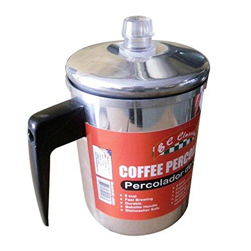 Bene Casa Aluminum Coffee Percolator, 8 Cup by Bene Casa