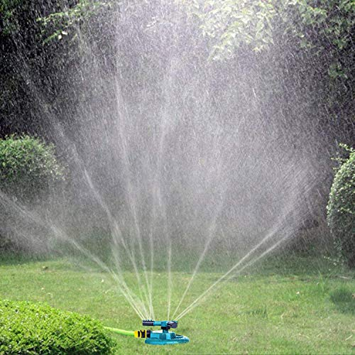 Proof Care Sun Age (Lawn sprinkler Rotary Three Arm Lawn, Sprayer Water Sprinkler)