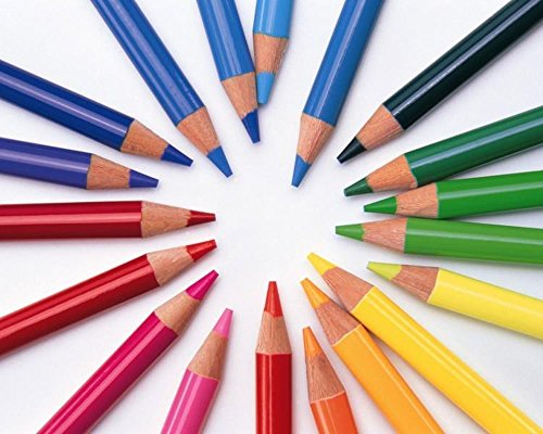 Hxytech Colored Pencils Coloring Colorful product image