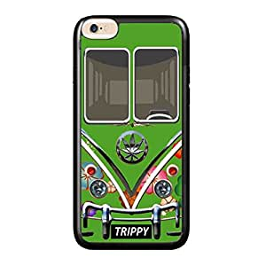 Weed Hippie Van Trippy iPhone 6 PLUS RUBBER (TPU) Case Cover For 5.5