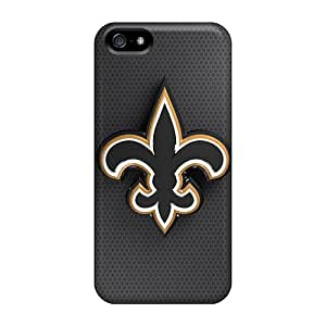 IanJoeyPatricia Iphone 5/5s Shock Absorption Hard Phone Cover Provide Private Custom Vivid New Orleans Saints Image [VzJ9293jFsX]