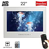 Soulaca 22inch Frameless Waterproof Magic Mirror Bathroom TV M220FN
