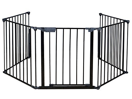 BABY FENCE SAFETY FOR USE AROUND FIREPLACES - FENCE FOR YOUR LOVELY