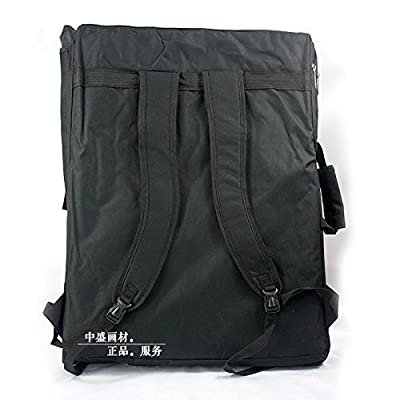 Artoop Waterproof Artist Portfolio Carry and Backpack Canvas Bag for Drawing Sketching Painting Art Materials
