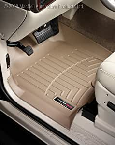 Amazon Weathertech Custom Fit Front Floorliner For Gmc Acadia Tan Automotive