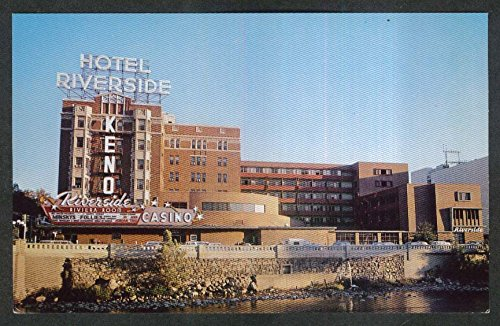 Riverside Hotel & Casino Reno NV postcard 1960s