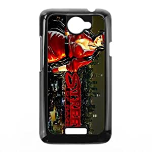 HTC One X Cell Phone Case Black Streets of Rage2 ISU231586