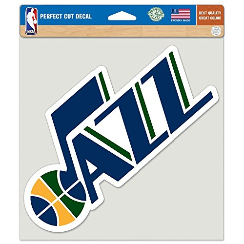 "WinCraft NBA Utah Jazz Perfect Cut Color Decal, 8"" x 8"""