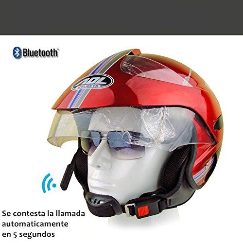 Manos Libres De Bluetooth V4.0 + Edr Audífonos Para Casco de Motocicletas