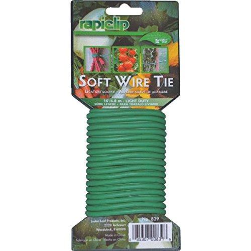 Luster Leaf 839 16 ft. Light Duty Soft Twist Plant Tie