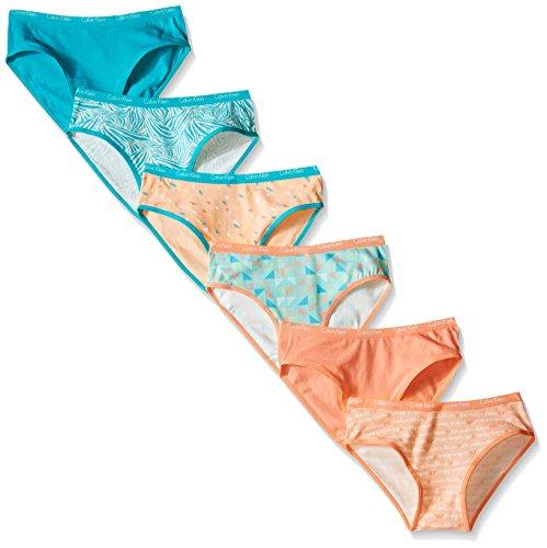calvin-klein-big-girls-6-pack-multicolor-bikinis-peach-nectar-x-large