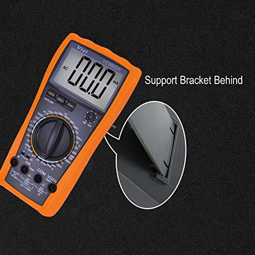 VC9805A+ digital multimeter, HoldPeak DC/AC Mini Digital Multimeter HP-37C 1999-6000 Resistance Capacitance Frequency Duty Cycle Tester NCV Meter Tools