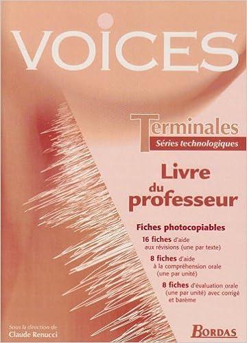Lire en ligne VOICES TERM ST PROF 2003 pdf, epub ebook