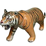 Jet Creations Lifelike Life Size Inflatable Replica Tiger by Jet Creations