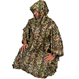 UNIQUEBELLA 3D Tactical Military Hunting Birdwatching Sniper Ghillie Sniper Poncho Camouflage Cloak