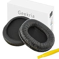 Almohadillas Geekria para SONY MDR-7506, MDR-V6, MDR-CD900ST Auriculares de reemplazo /Almohadón /Almohadillas /Orejeras /Almohadillas /Auriculares Repuestos