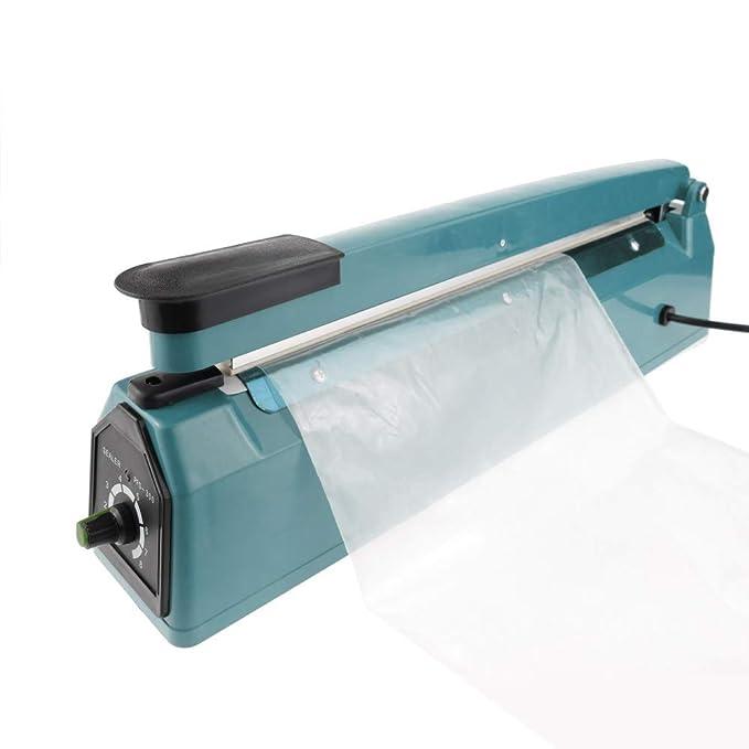 Cablematic - Selladora térmica de 40cm para bolsas de plástico