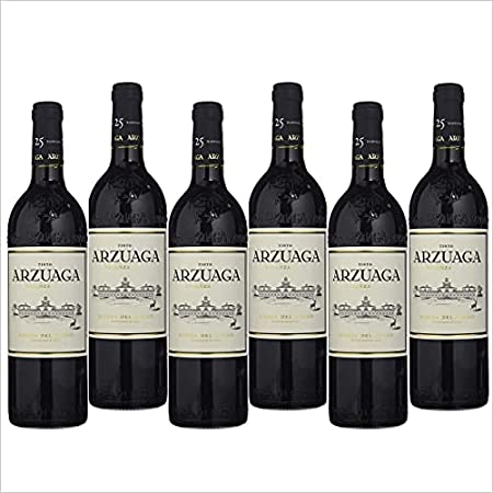 Arzuaga Crianza - Vino Tinto Ribera del Duero - Caja de 6 Botellas - Seleccionado y enviado por Cosecha Privada