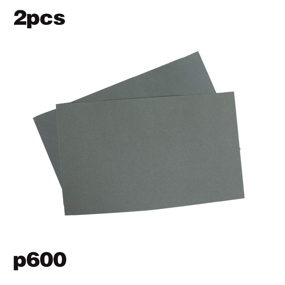 6 Unidades Vaugan P600//1000//1200//1500//2000//2500 Papel de Lija Impermeable 6 Unidades