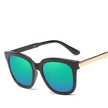 LLLM Gafas de sol Gafas de Sol cuadradas para Mujer Diseño ...