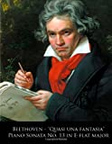Beethoven - Quasi una Fantasia Piano Sonata No. 13 in e-Flat Major, Ludwig van Beethoven and L. Beethoven, 1499704674