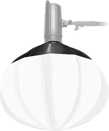Neewer Globe Lantern Softbox Diffuser 65 cm for LED: Amazon.de: Camera & Photo