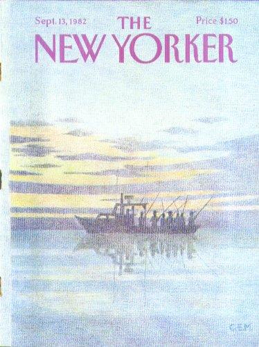 (New Yorker cover Martin sportfishing boat 9/13)