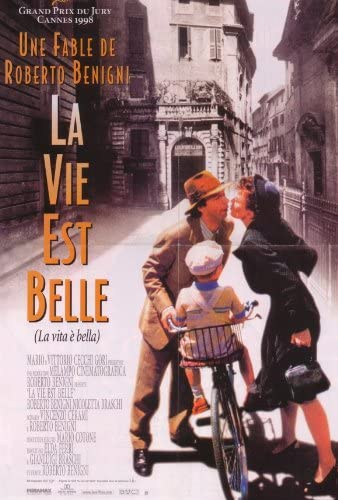 NEW Roberto Benigni Life Is Beautiful Movie POSTER 11 x 17 Nicoletta Braschi