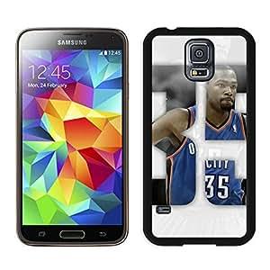New Custom Design Cover Case For Samsung Galaxy S5 I9600 G900a G900v G900p G900t G900w Oklahoma City Thunder Kevin Durant 1 Black Phone Case