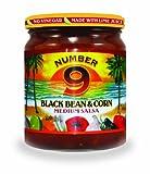 Number 9 Black Bean and Corn Salsa (12x15.8oz)