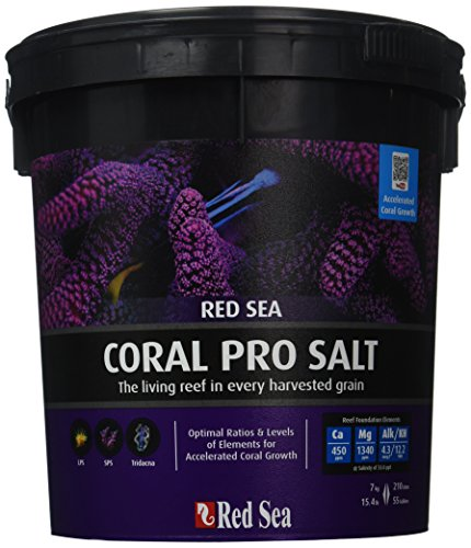Red Sea Fish Pharm ARE11220 Coral Pro Marine Salt for Aquarium, 55-Gallon