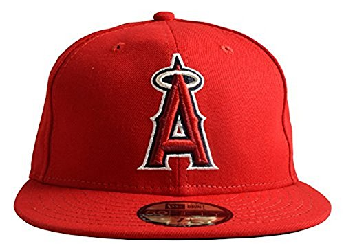 New Era 59FIFTY Los Angeles Angels of Anaheim 2018 Authentic Collection On Field Game Cap 7 3/4