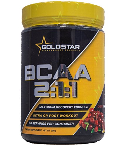 Goldstar Performance BCAA 2:1:1 Cherry Bomb