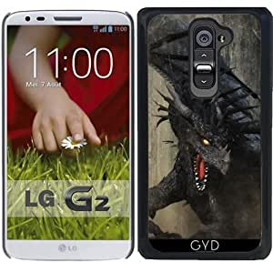 Funda para LG G2 - Dragón Negro by Gatterwe