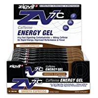 ZV7c Caffeine Energy Gel, Smooth Espresso, Box of 24 x 60ml