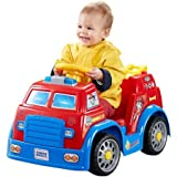 Power Wheels Riding Toys Best Deals - 6 V Fisher-Price Power Wheels PAW Patrol Fire Truck