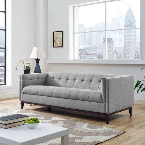 Modway Serve Sofa, Light Gray