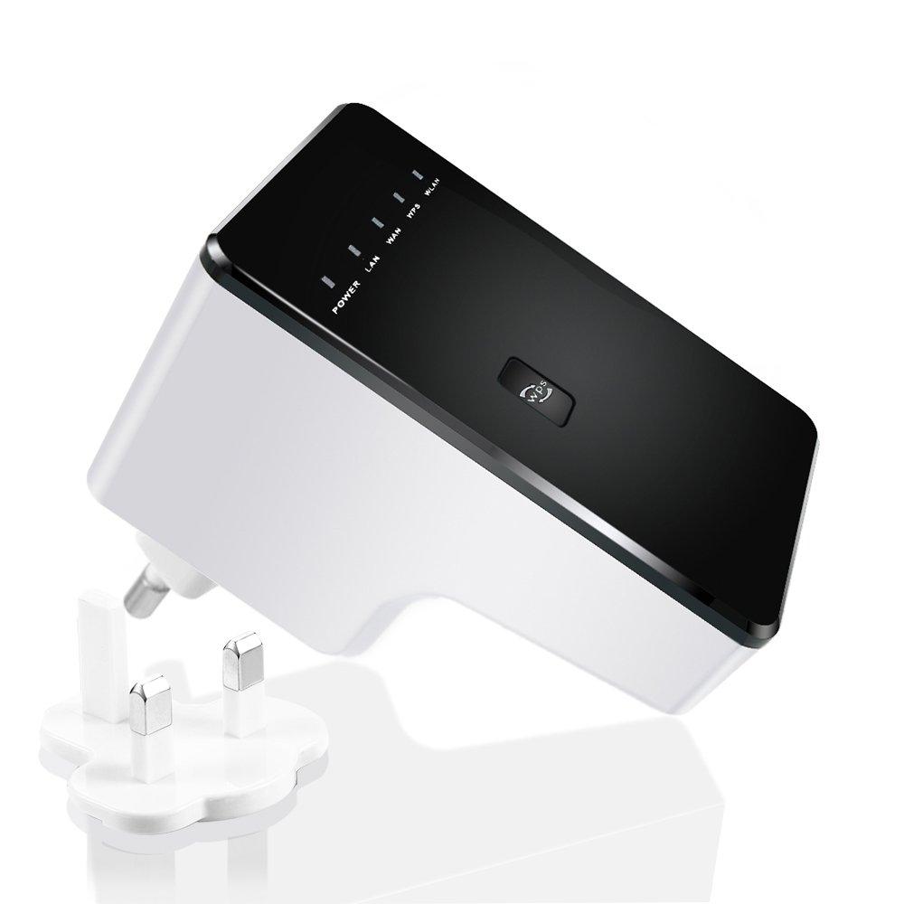 Repetidor Router Wifi Mbps Gran Rango de Extensión de Amplificador Sin Cables