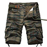 Best Mens Cargo Shorts - Men's Cargo Shorts Casual Lounge Shorts Multi Pocket Review