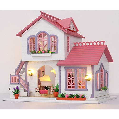 1:24 DIY Handcraft Miniature Project Kit Wooden Dolls House - Romantic Theme ()