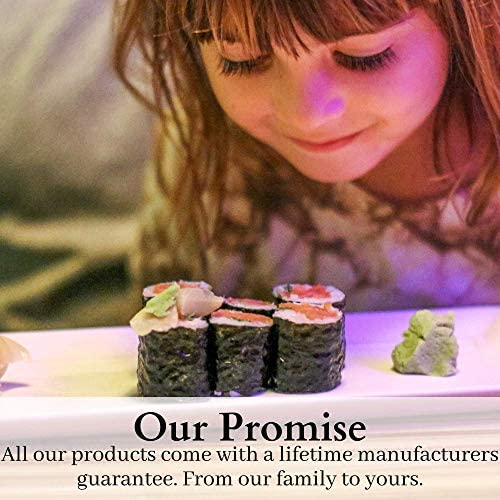 Sushi Making Kit for Beginners - All In One Bazooka Set, Roller, Nigiri Mold Maker, Bamboo Rolling Mats, Rice Tools, Chopsticks, Knife - Enjoy DIY Sushi at Home, Easy for Kids, Simple Sushi Party Gift
