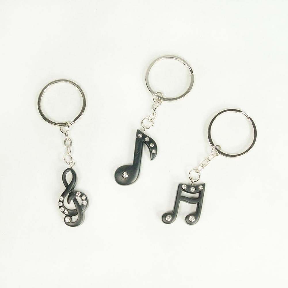Amazon.com: Musical Note Key Chain Favors, 1: Kitchen & Dining