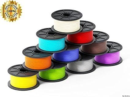 3d pen filamento: 1,75 mm PLA, seguro para niños, gran calidad ...