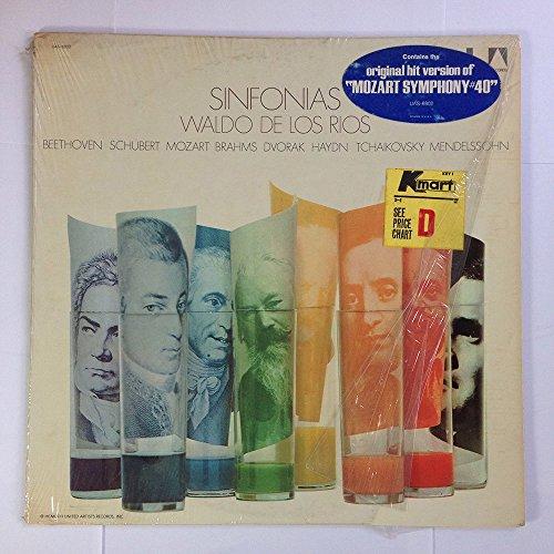 Waldo De Los Rios : Sinfonias (Beethoven, Schubert, Mozart, Brahms, Dvorak, Haydn, Tchaikovsky, Mendelssohn)