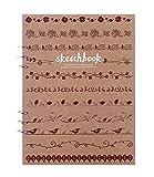Blank Paper Sketchbook Loose Binder Paper Loose Leaf Blank 110g Sketch Paper,D
