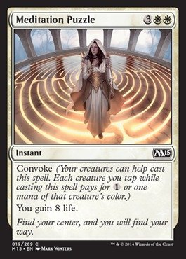 Magic: the Gathering - Meditation Puzzle (019/269) - Magic 2015
