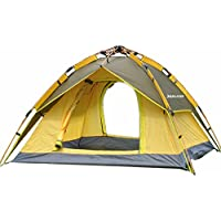 Suliko Family Camping Tent, 3 Usages Double Layer...