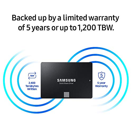 Samsung 860 EVO 2TB 2.5 Inch SATA III Internal SSD (MZ-76E2T0B/AM) by Samsung (Image #5)